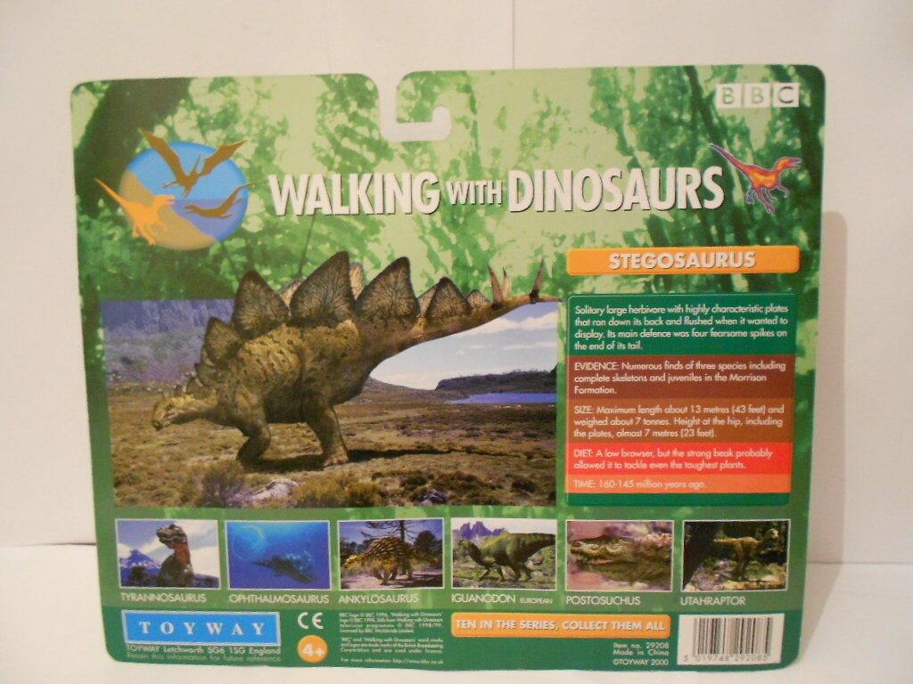 BBC Walking with Dinosaurs Stegosaurus Model   Mint in Packaging